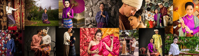 Traditional Thai and Burmese Costume Shoot Chiang Mai