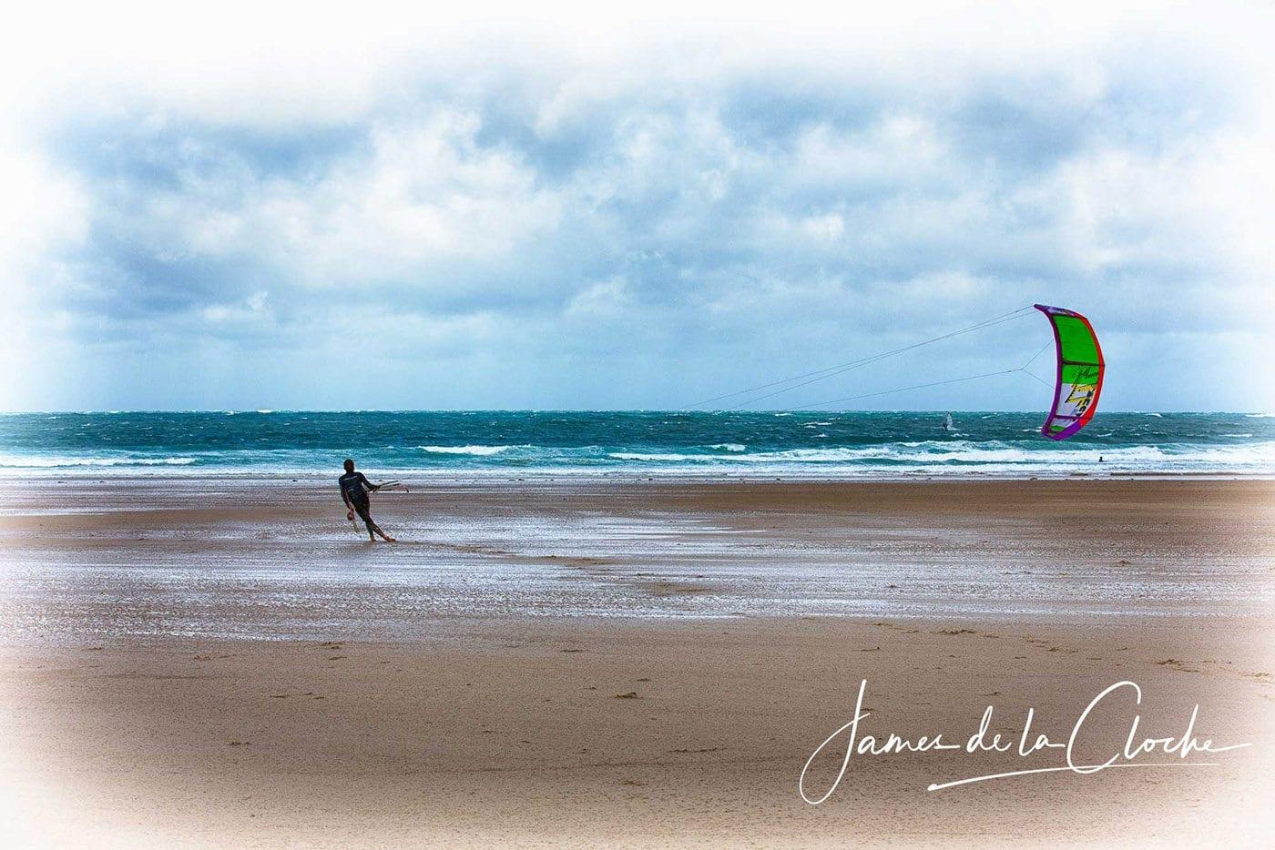 Kite Surfer at StOuen