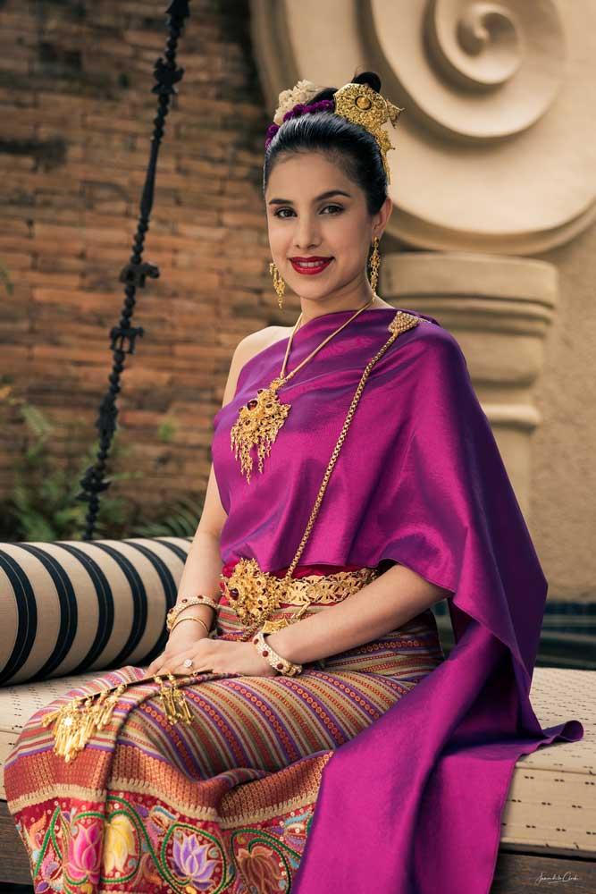 Thai Lanna Costume Four Seasons