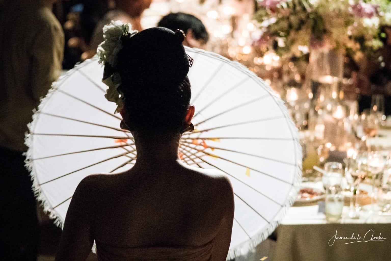 Traditional Umbrella Dance