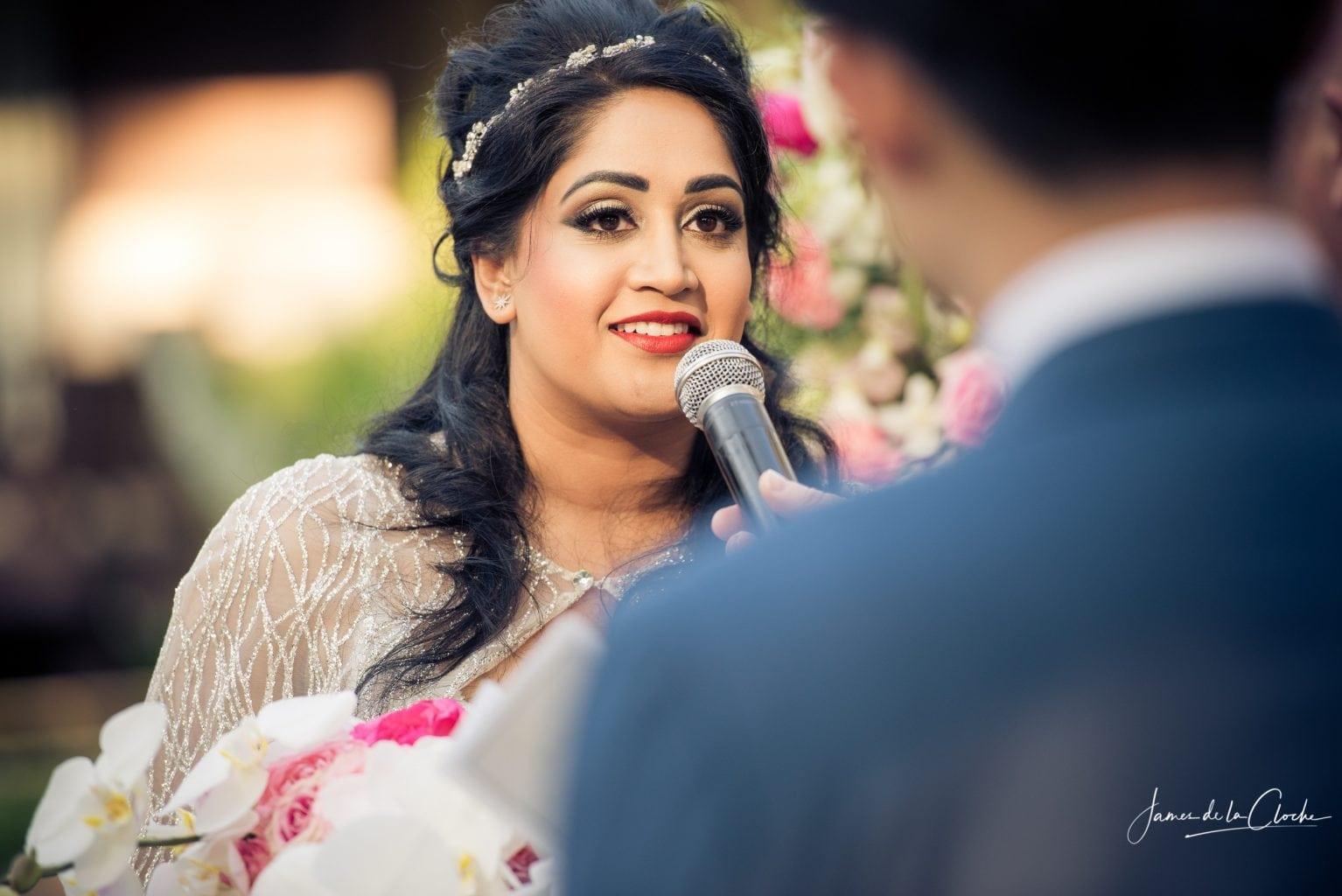 The Bride Speaks Her Vows