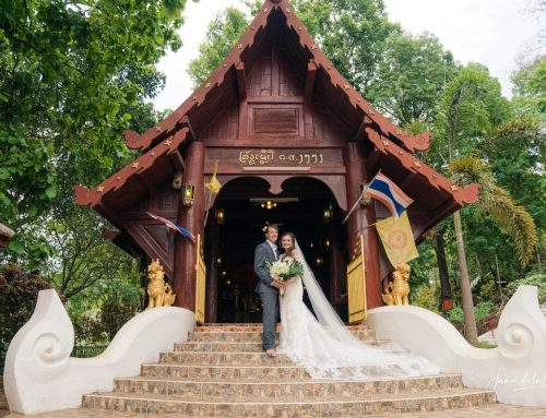 Forest Temple Wedding, Chiang Mai