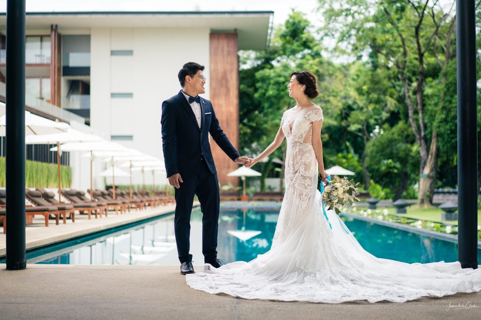 Anantara Chiang Mai pre wedding photo shoot