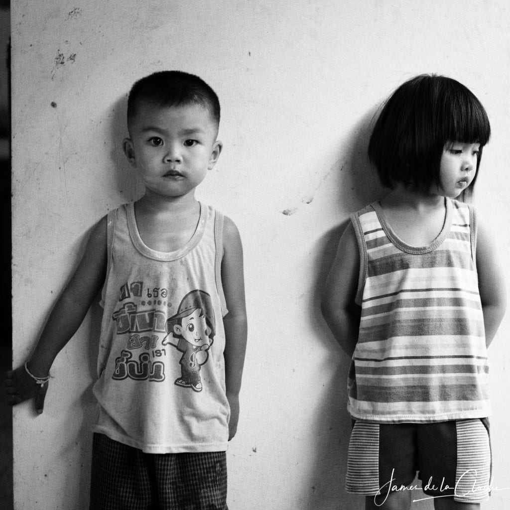 black and white childrens photography