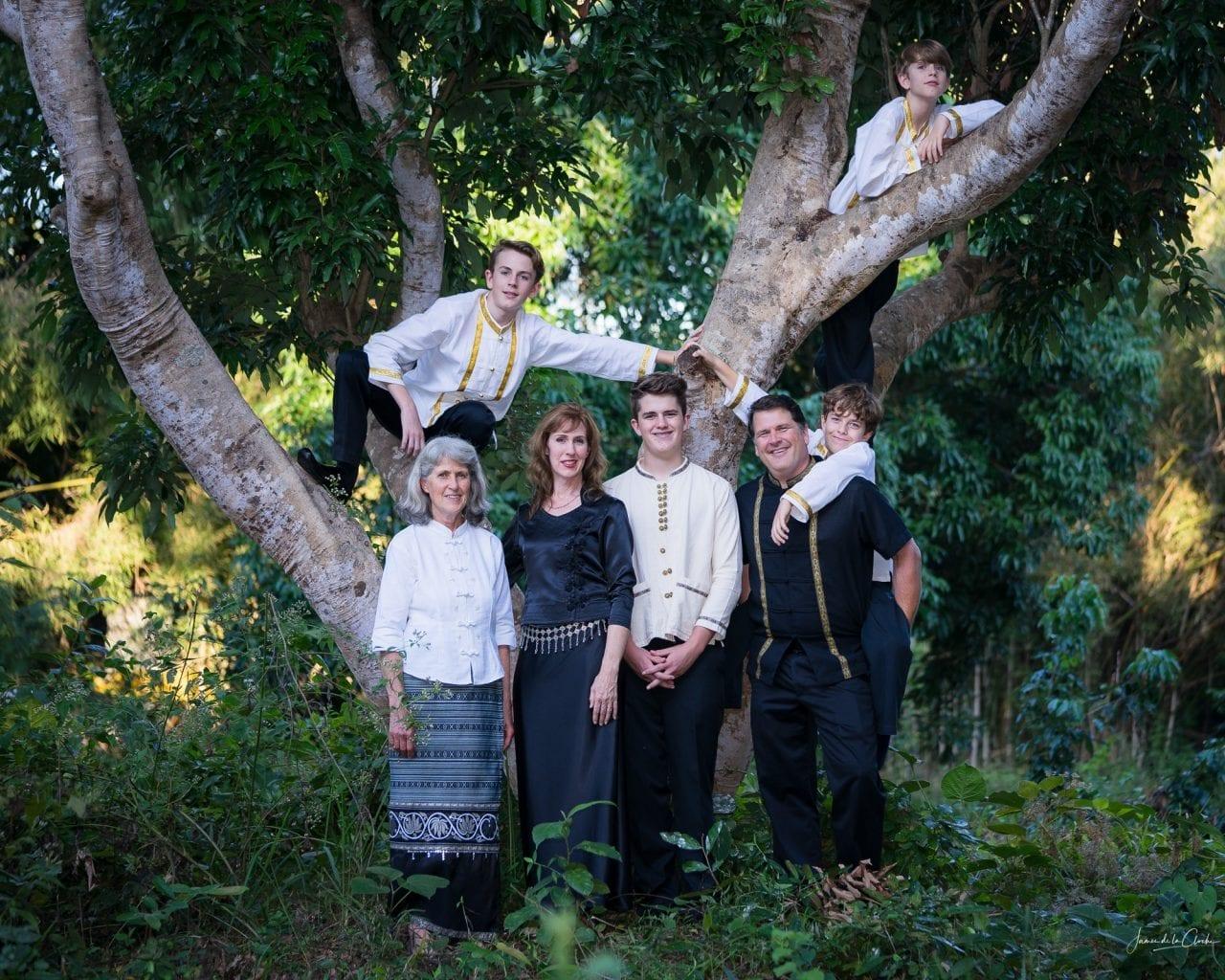 Chiang Mai family photography