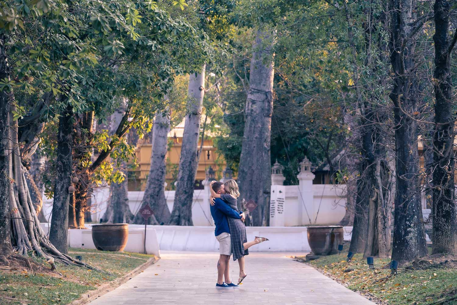 Chiang Mai proposal photo shoot