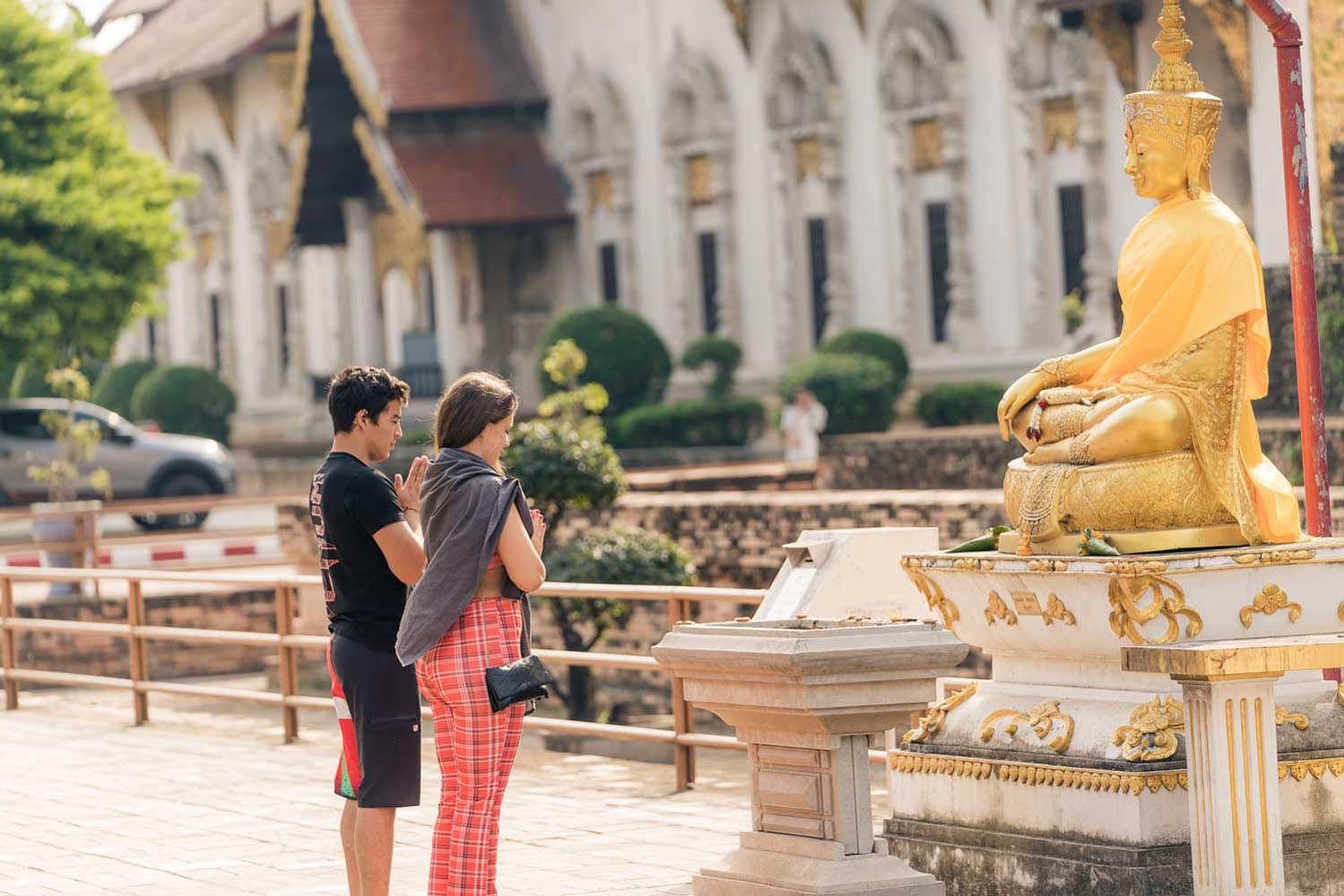 Chiang Mai temple photo shoot