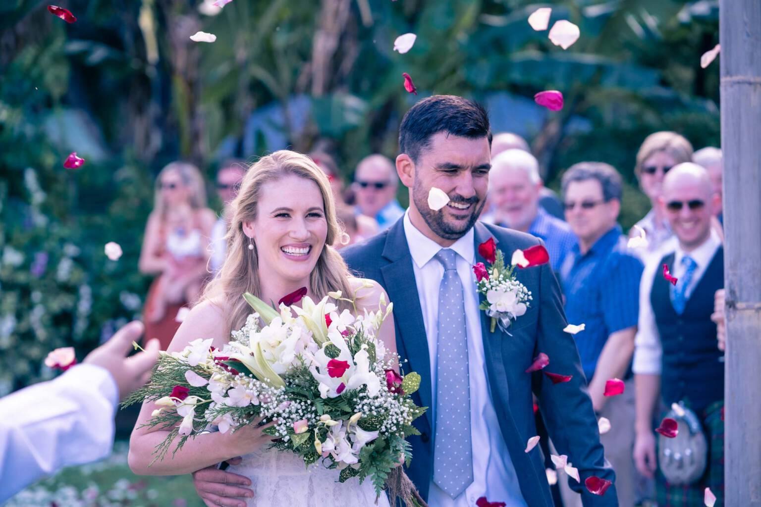 David & Laura River Market Wedding