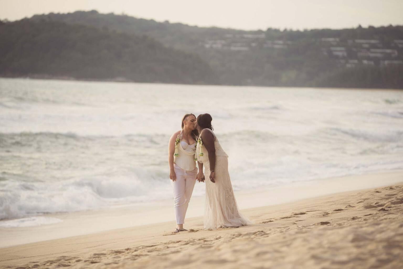 Kani & Andrea Lesbian Wedding Banyan Tree Phuket