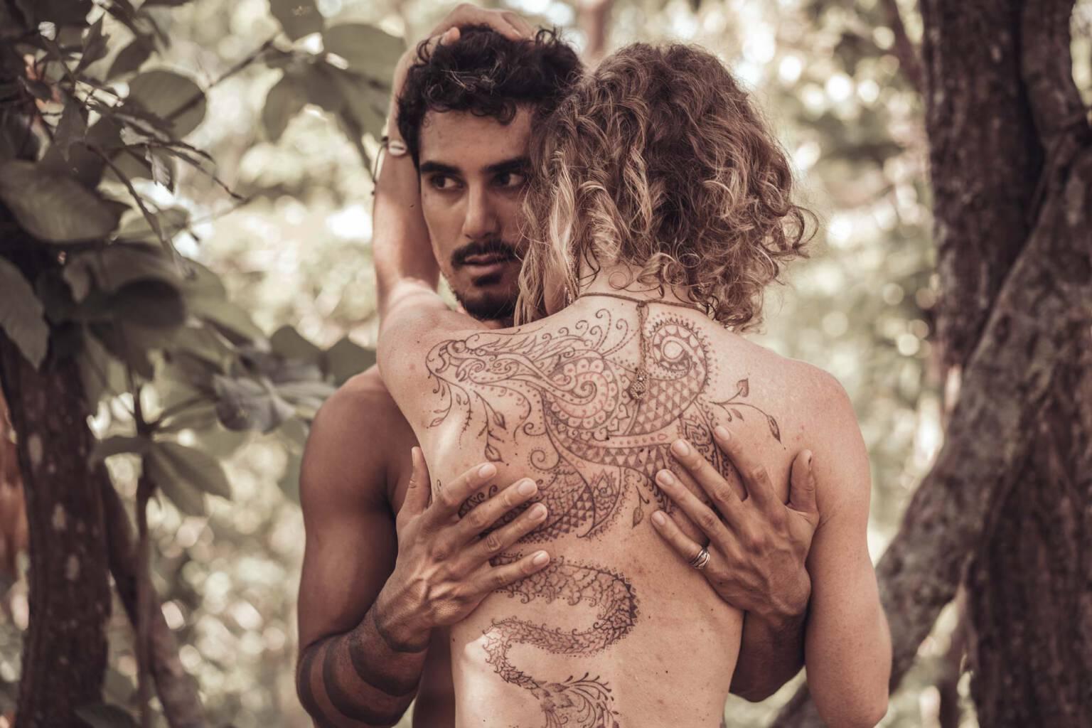 Nalaya & Ruan Romance shoot Chiang Mai