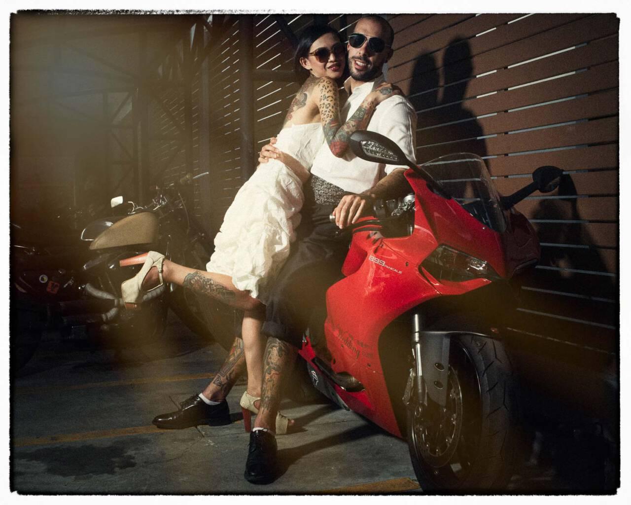 Rock & Roll Bride - Photo shoot Chiang Mai